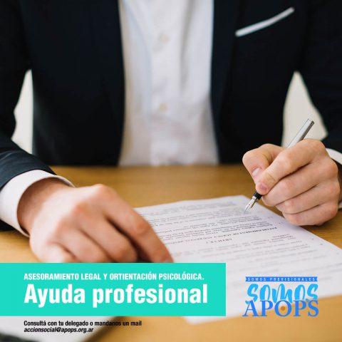 Ayuda Profesional