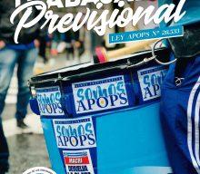 27 de noviembre – Trabajador Previsional