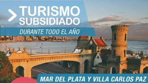 Turismo subsidiado todo el año