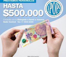 PRÉSTAMOS HASTA $500.000
